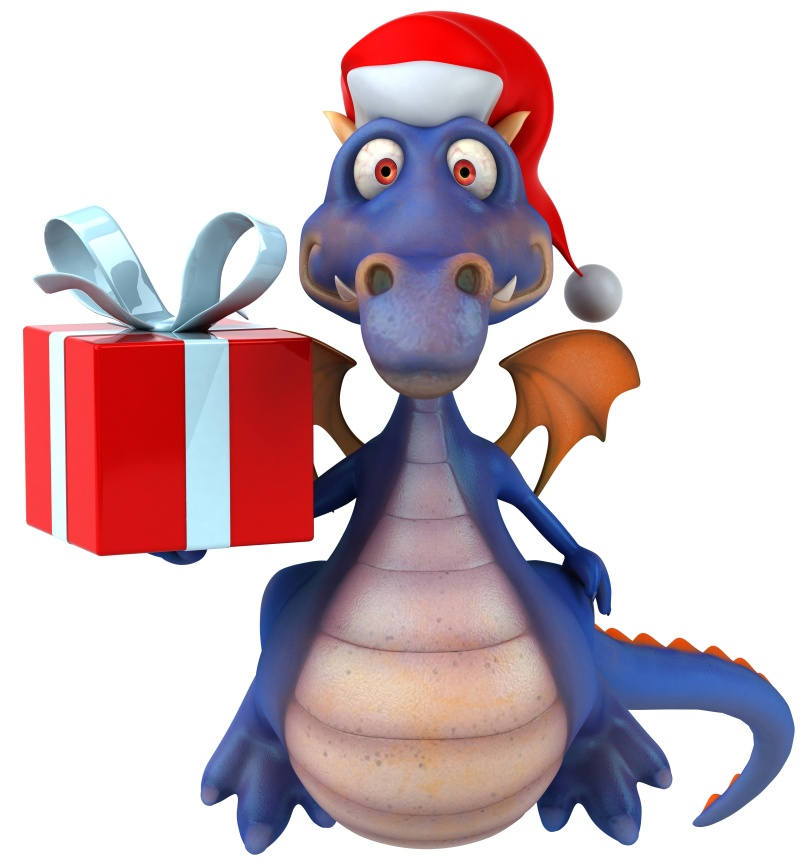 The Christmas Dragon.The Christmas Dragon The Complete And Absolutely True Story